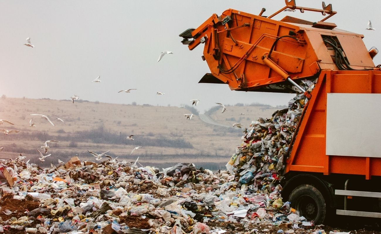 Adelaide's landfill is full of recycling